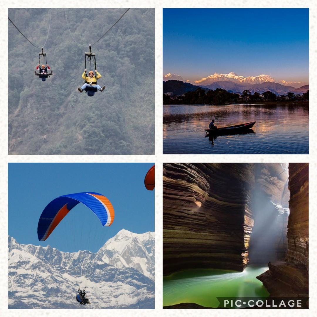 Adventure Things to do in Pokhara | Hiking Sarankot