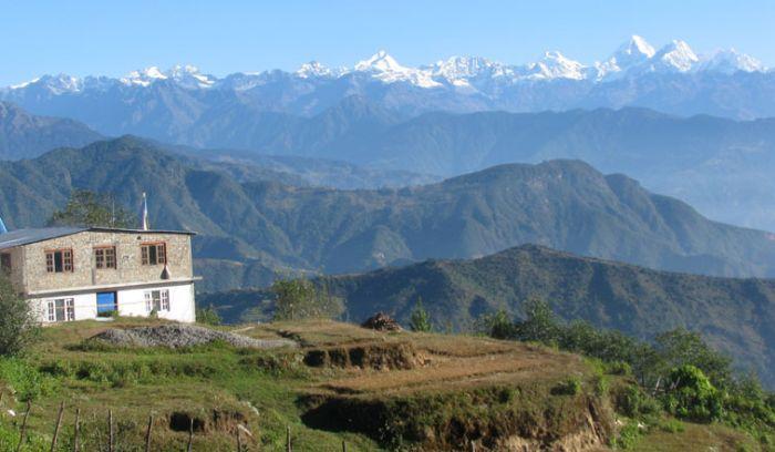 family trip in nepal