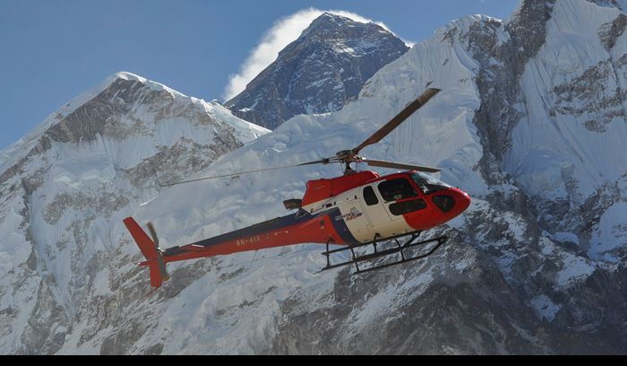 Everest helicopter Trek
