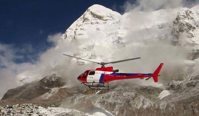 Langtang valley helicopter Trek