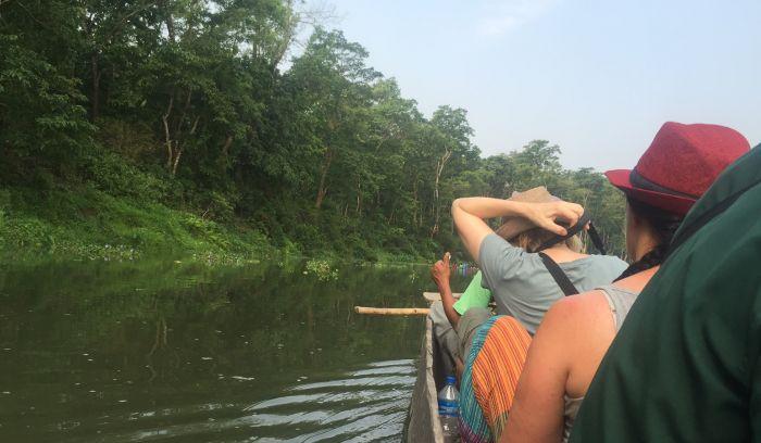 Canoe boat Ride- Jungle safari adventure