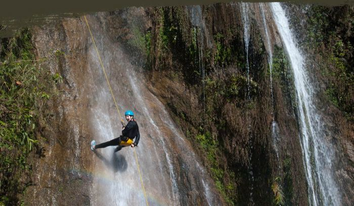 Canyoning adventure day tour