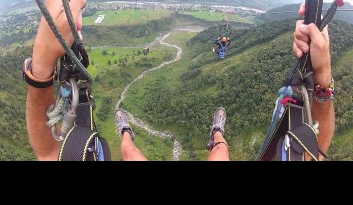 zip flyer adventure in Nepal