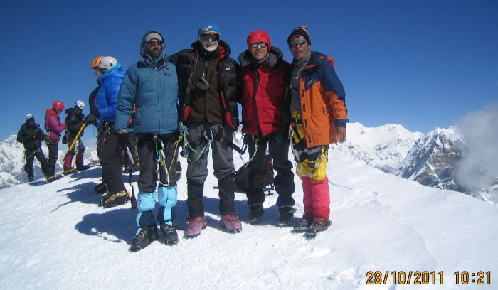 Mera peak- The highest trekking peak of Nepal