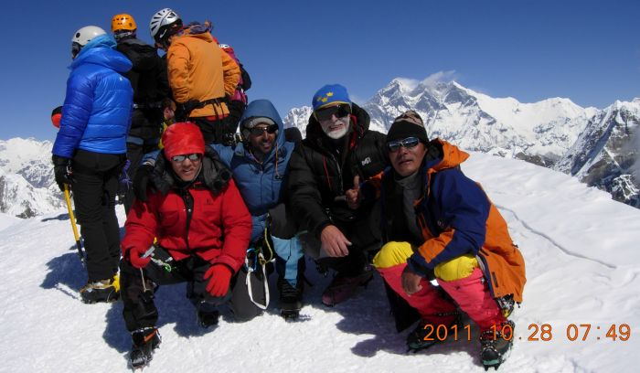 Summit of Mera peak- Trip of a lifetime