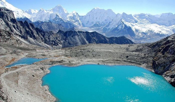 Dudh Kunda- Holy Lake Located at 4561 m in Lower Everest region
