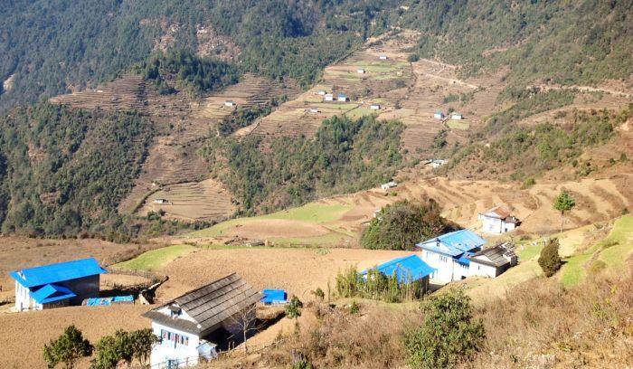 Chyangmiteg sherpa Village