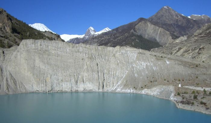 Gangapurna glacier near Manang