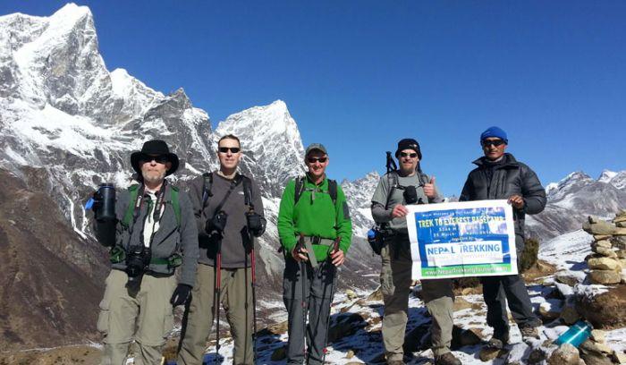 Trek to Everest base camp with Nepal Trekking tourism & Adventure