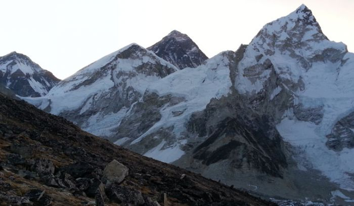 Everest view before sunrise