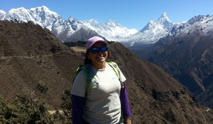 Everest and more from Namche