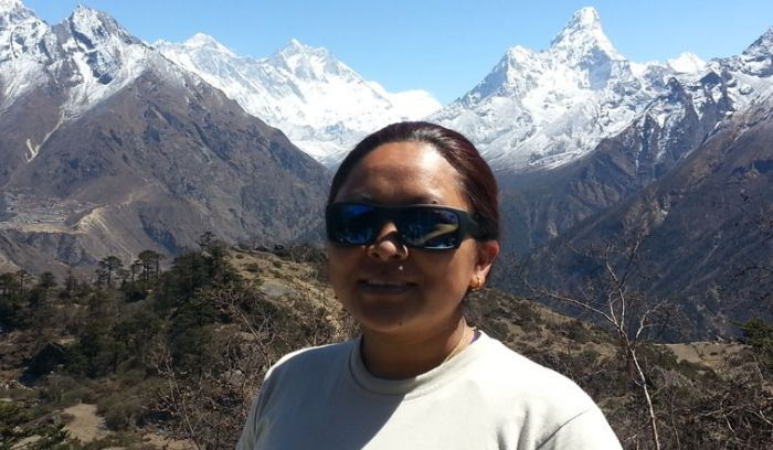 amadablam,everest and lhotse