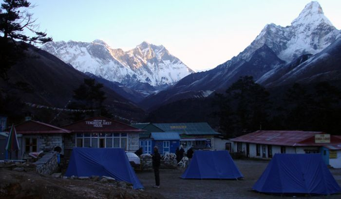 View from tengboche(3860m)