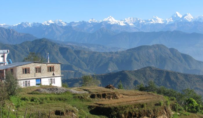 View from Chisapani, the short & best trek around Kathmandu