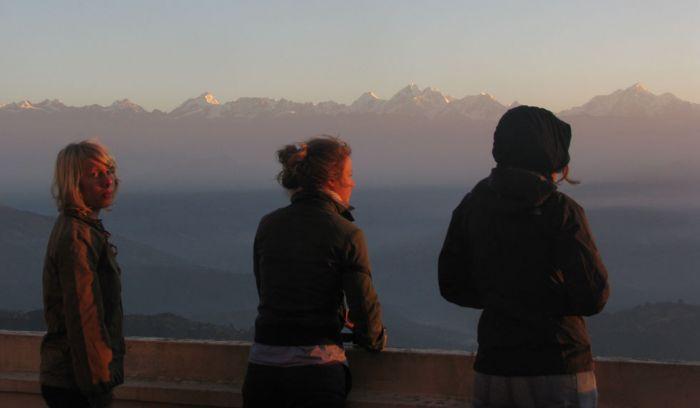 Sunrise view from Nagarkot- Kathmandu valley trek