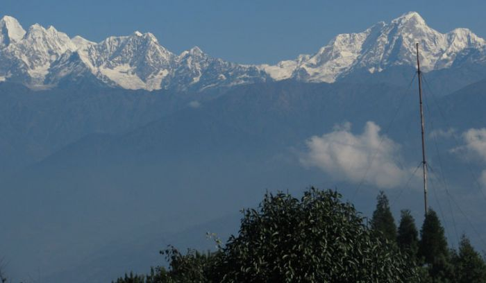 View from Nagarkot view point, 2175m, chisapani trek