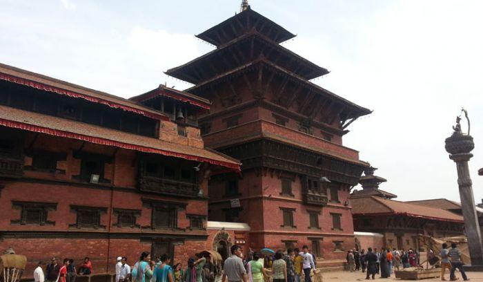 Patan city in Kathmandu