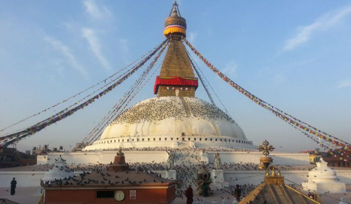 Boudhanath stupa- the tallest and biggest stupa in the world