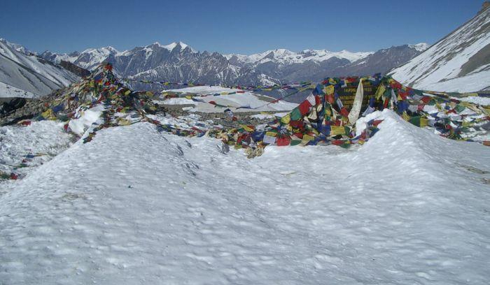 Throng la pass- 5416m- One of the popular high pass of Annapurna circuit trek