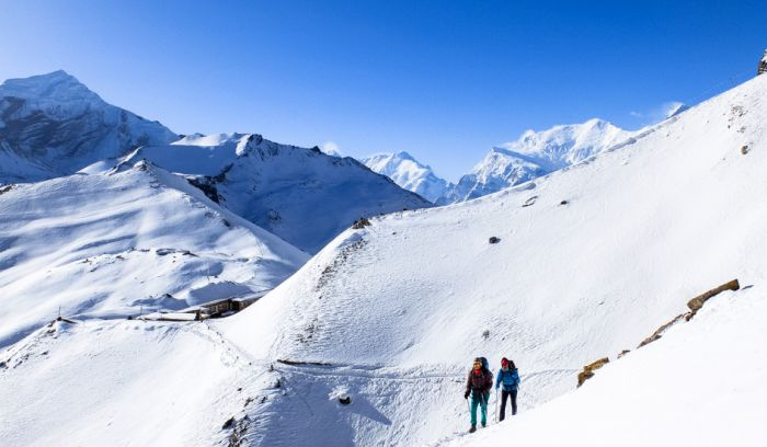 Thorong la pass( 5416m)