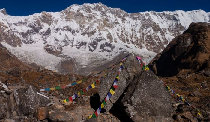 Annapurna south View from ABC