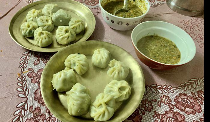 Vegetable cheese MoMo- Popular snack of Nepal