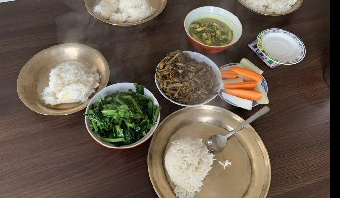 Nepali meals dhalbhat Tarkari