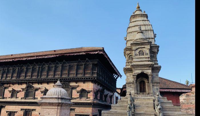 55 window royal palace, Bhaktapur