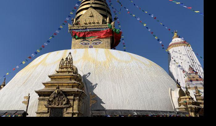 Swoyambunath Temple in Kathmandu