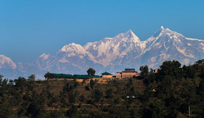 View from Dhampus, Annapurna