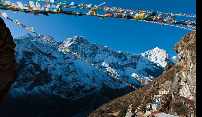 View from Namche( 3440m) in Everest
