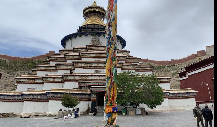 Khumbum Chorten, Gyantse, Tibet
