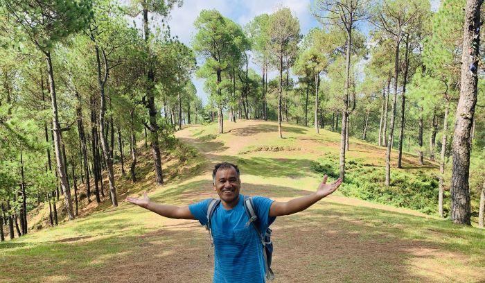 Shivapuri national Park hiking trail