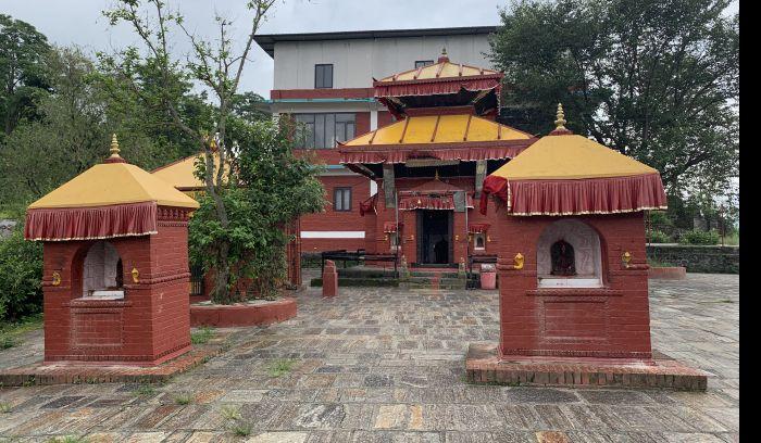 Jalpa devi temple, telkot, way to Nagarkot hiking