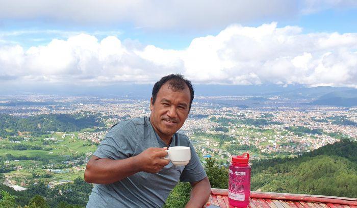 Kathmandu city view from Shivapuri National park