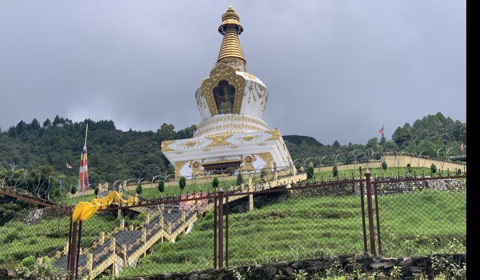 Jamchen Vijaya Stupa, Budanilkantha height