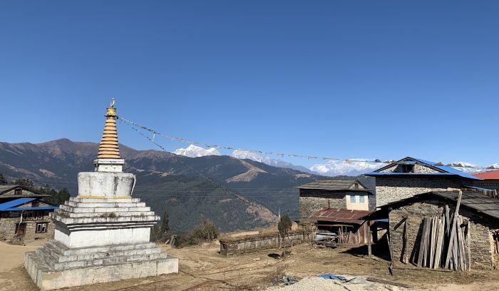 View from Jhapre- pokey trek
