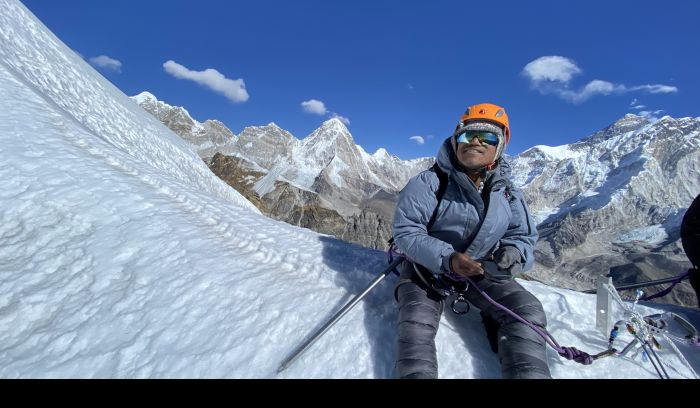 View from Top of Lobuche