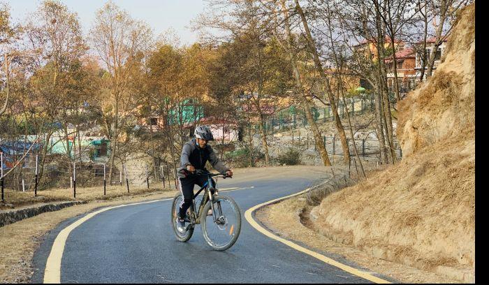 Budanilkantha to Dadagau ride