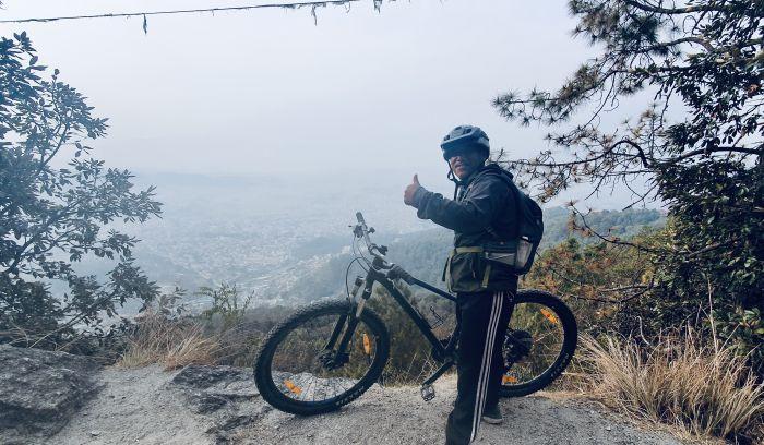 Shivapuri National Biking trail view