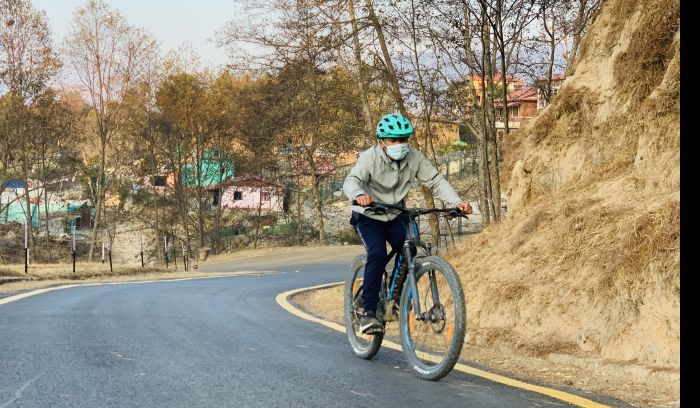 Kathmandu to Tibet Border Bike tour