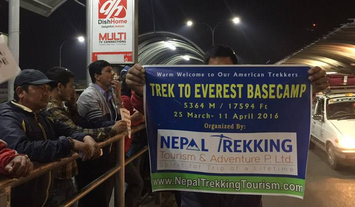 5 American Trekkers Heading To Everest Base Camp