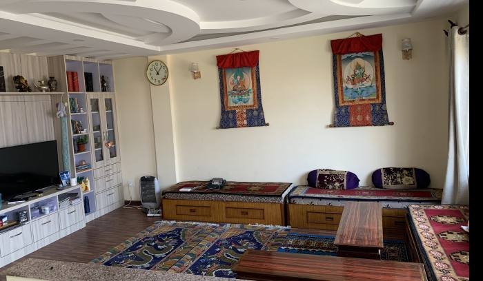 common Living room @ sherpa sweet home