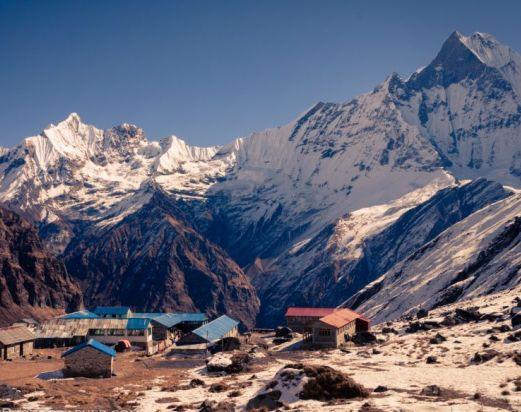 Annapurna basecamp( 4130m)