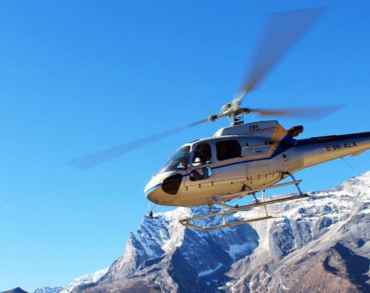 Everest base camp Helicopter Trek