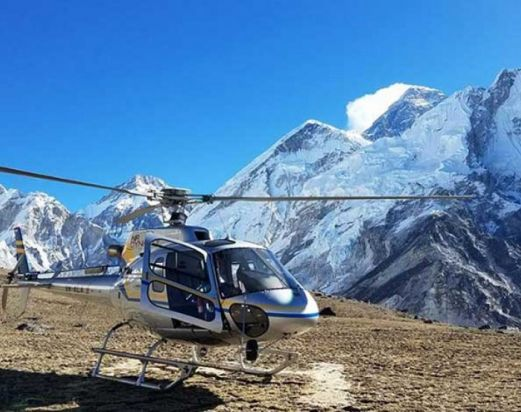 Everest Helicopter tour-Everest base camp Helicopter tour