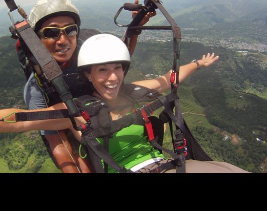 Paragliding adventure tour in pokhara