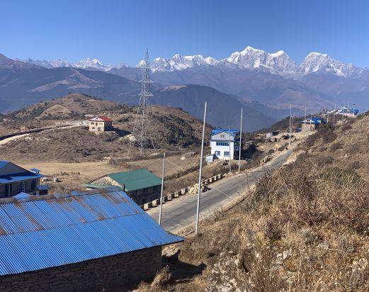 Pikey peak lower Everest trek