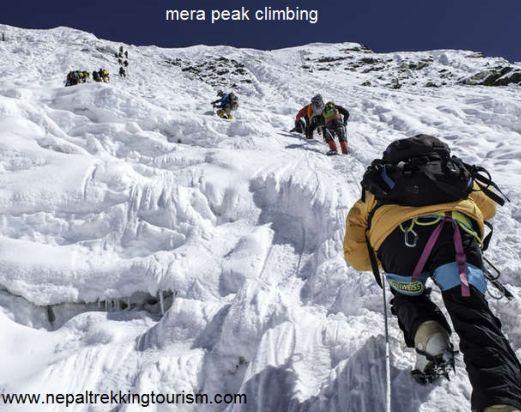 Short Mera peak Expedition 4 days